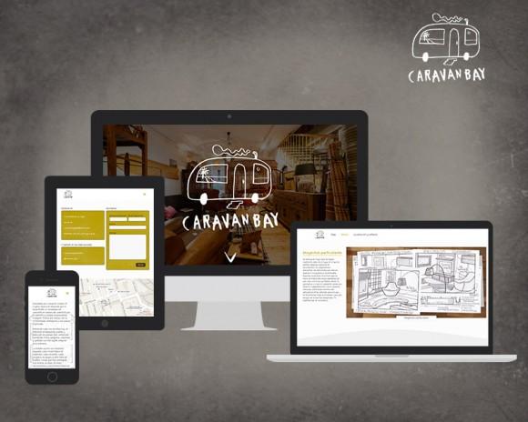 Diseño web Caravan Bay