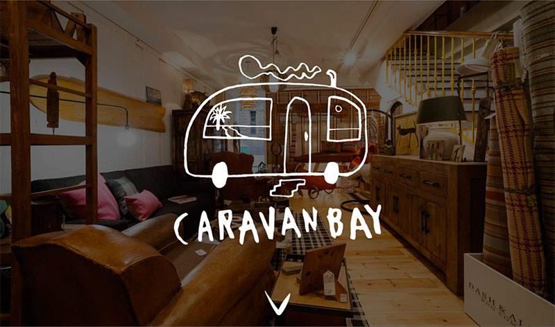 Portada página web Caravan Bay