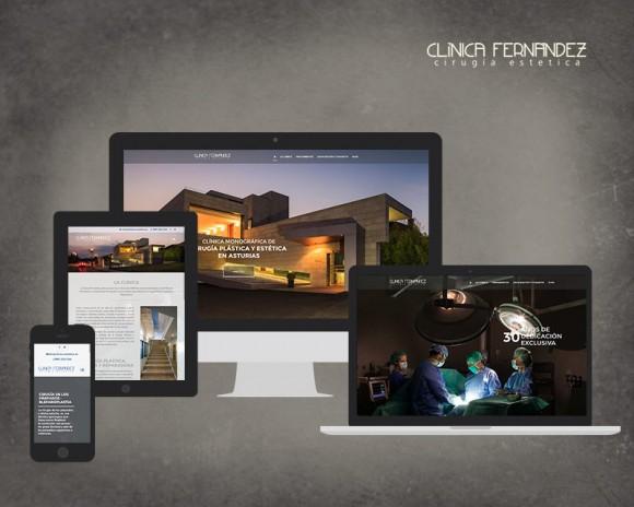 Diseño Web Clínica Estética Fernández