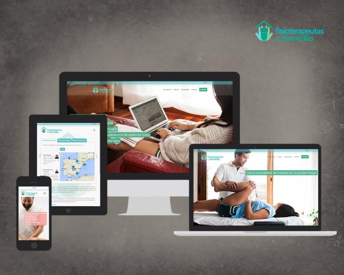 web fisioterapeutas a domicilio