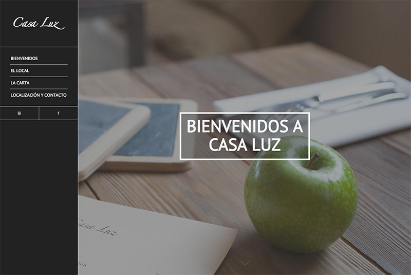 fotografía, diseño y desarrollo web casa luz ribadesella