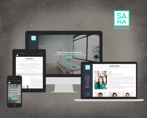 Diseño web sana fisioterapia